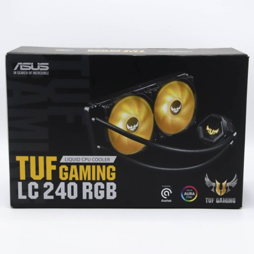 Cooler lichid procesor Asus TUF Gaming LC 240 RGB, compatibil Intel, AMD