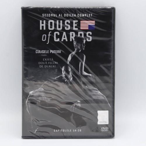 Culisele Puterii / House of Cards Cap. 14-26 - DVD Filme