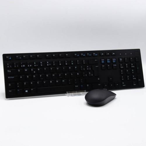 DELL KM636 Kit Tastatura si Mouse Wireless, USB