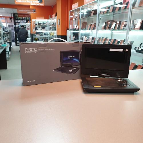 "DVD Player portabil Apeman PV970, Display rotativ, 9.5"" HD"