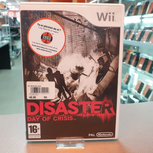 Disaster Day of Crisis - Joc Nintendo WII