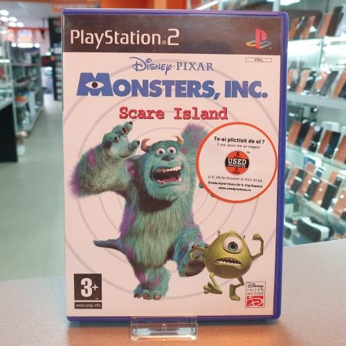 Disney Pixar Monsters Inc Scare Island - Joc PS2