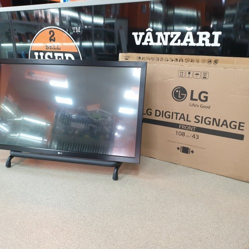 Display Profesional LG 43SL5B + LG Overlay Kit  KT-T43E