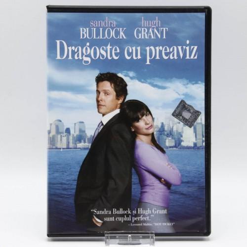Dragoste cu Preaviz - DVD Filme