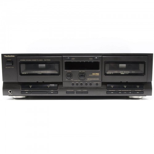 Dublu Deck Stereo Technics RS-TR232