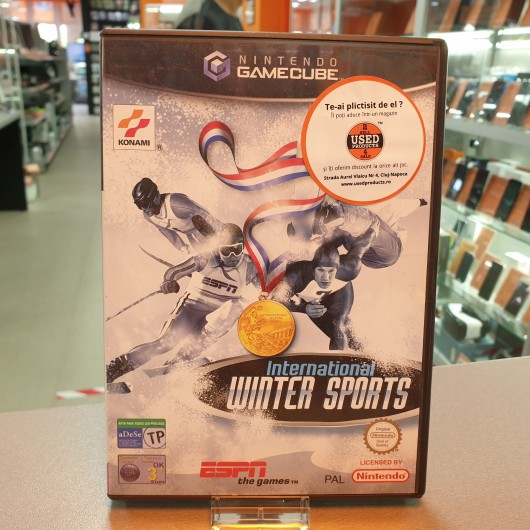 ESPN International Winter Sports - Joc Nintendo GameCube