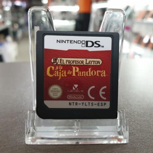 El Profesor Layton y la Caja de Pandora - Jon Nintendo DS