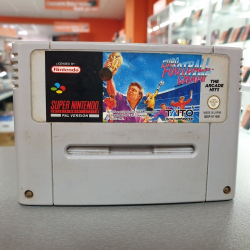 Euro Football Champ - Joc Nintendo SNES