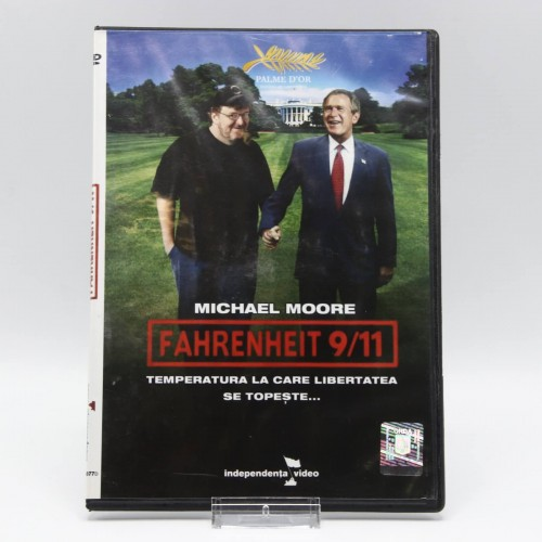 Fahrenheit 9/11 / Temperatura la care Libertatea se Topeste - DVD Filme