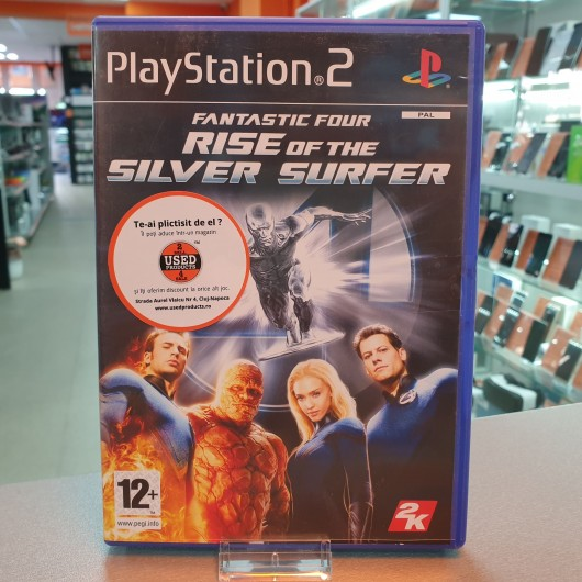 Fantastic Four Rise Of The Silver Surfer - Joc PS2