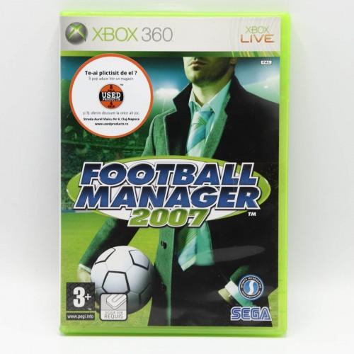 Football Manager 2007 - Joc Xbox 360