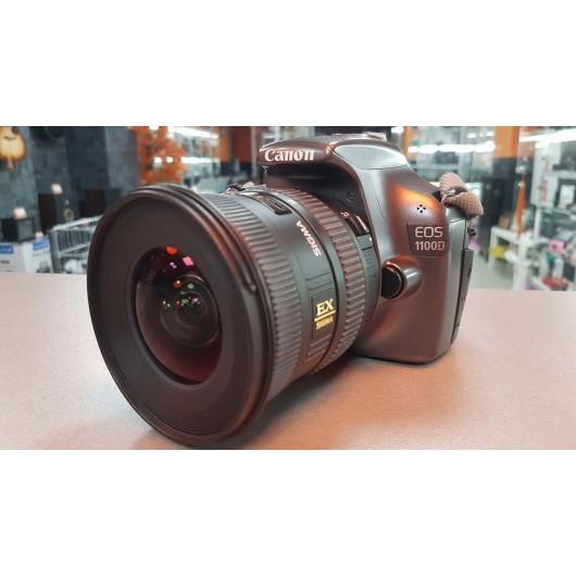 Aparat Foto Canon EOS 1100D + Obiectiv Sigma DC 10-20 mm HSM 1:4-5.6