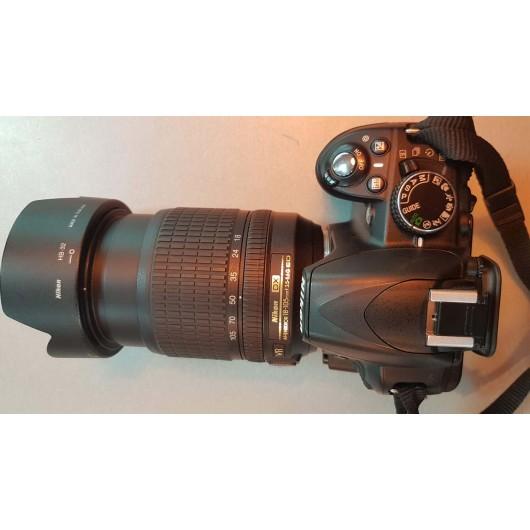 Aparat foto Nikon D3100 + Obiectiv 18-105mm 3.5-5.6