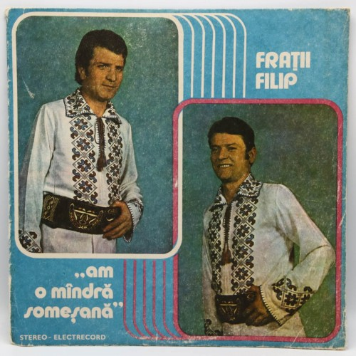 Fratii Filip - Am o mandra somesana - Disc vinil