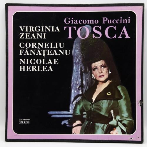 Giacomo Pucini TOSCA - Virginia Zeani, Corneliu Fanateanu, Nicolae Herlea - Disc Vinil
