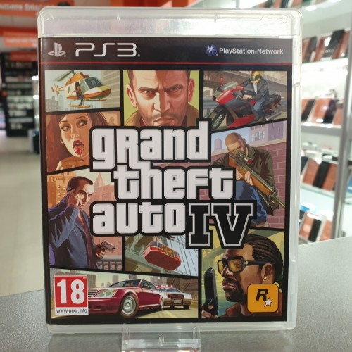 Grand Theft Auto IV - Joc PS3