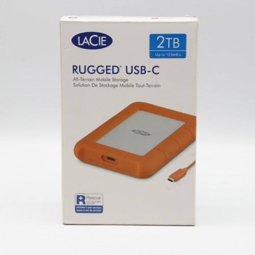 HDD Extern LaCie Rugged 2 Tb, USB-C