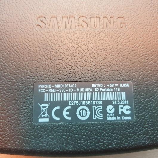 Hdd Portabil Samsung S2 1 Tb HX-MUD10EA G42