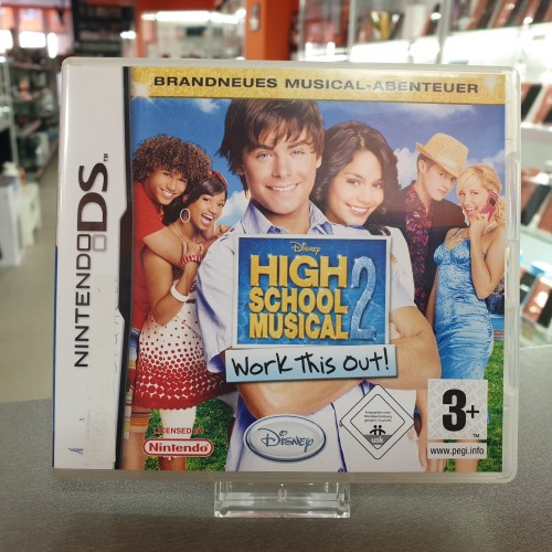 High School Musical 2 Work this Out! - Joc Nintendo DS