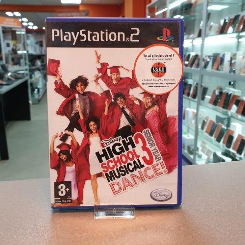 High School Musical 3 Senior Year Dance - Joc PS2