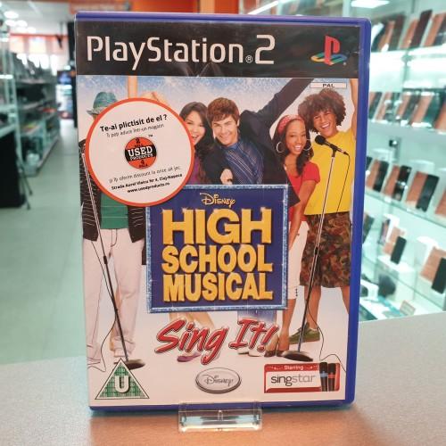 High School Musical Sing It! - Joc PS2