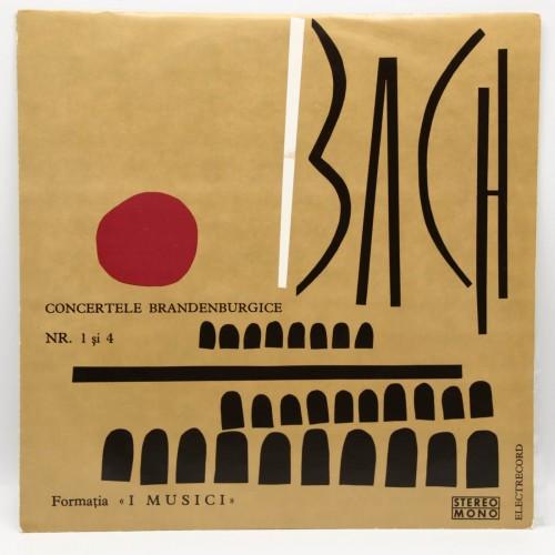 I Musici - Bach, Concertele Brandenburgice 1 si 4 - Disc vinil