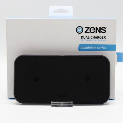 Incarcator wireless dublu Zens ZEDC04B, 10W, 8mm