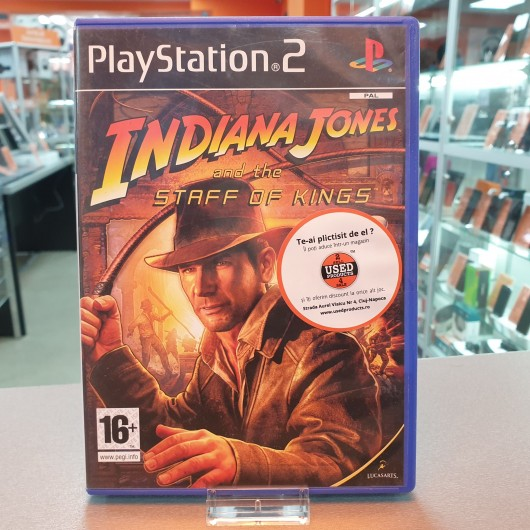Indiana Jones and the Staff of Kings - Joc PS2