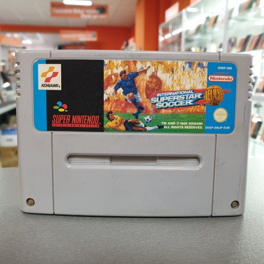 International Superstar Soccer - Joc Nintendo SNES