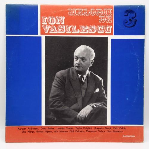 Ion Vasilescu - Disc Vinil