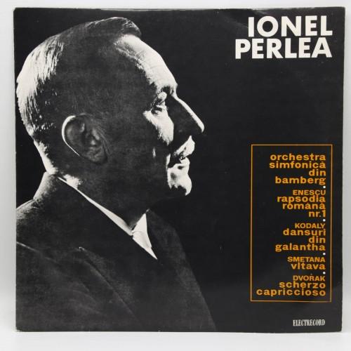 Ionel Perlea - Dirijor Orchestra din Bamberg - Disc vinil