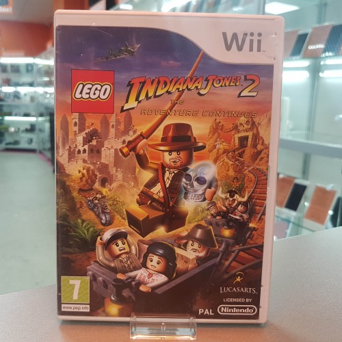 LEGO - Indiana Jones 2 - The Adventure Continues - Joc Nintendo Wii
