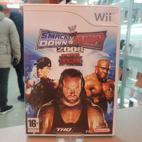 SmackDown vs Raw 2008 - Joc Nintendo Wii