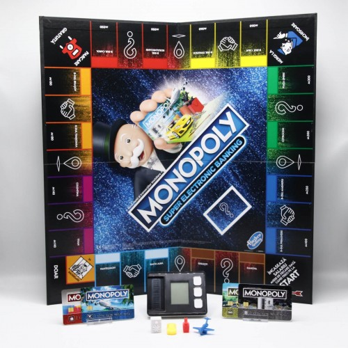 Joc de societate HASBRO Monopoly Super Electronic Banking E8978