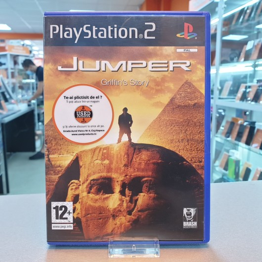 Jumper Griffin's Story - Joc PS2