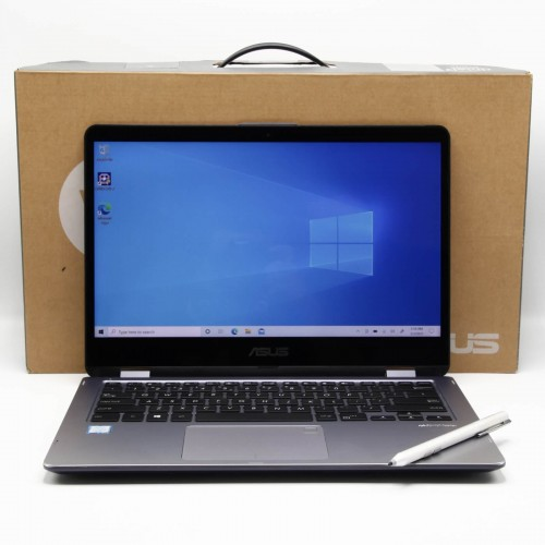 Laptop 2 in 1 Asus VivoBook Flip TP410U - i5 8250U, 12 Gb RAM, SSD 120  Gb