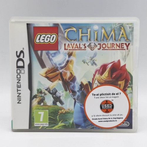 Lego Legends of Chima Laval's Journey - Joc Nintendo DS