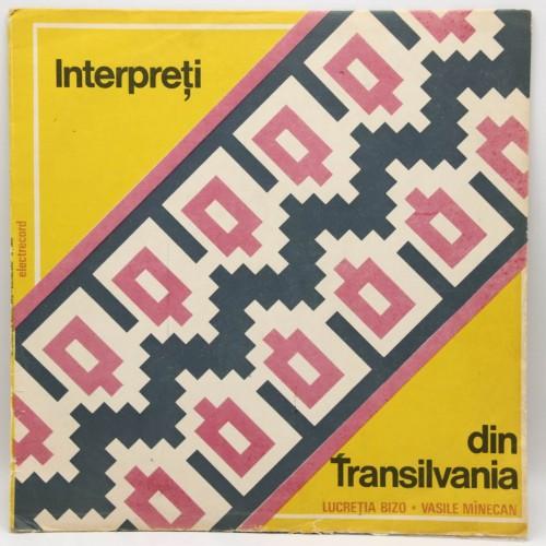 Lucretia Bizo, Vasile Minecan - Interpreti din Transilvania - Disc Vinil