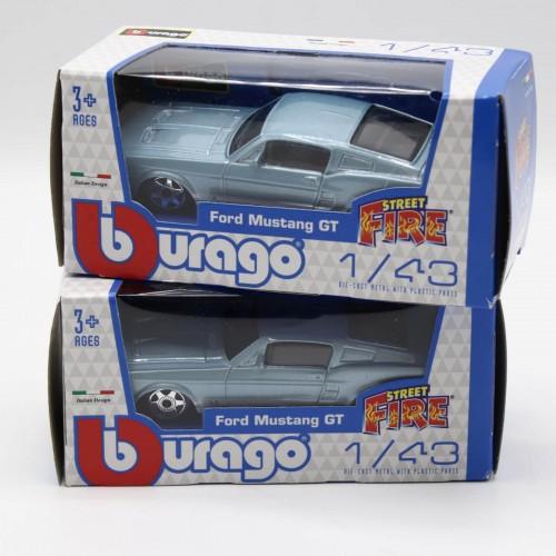 Macheta auto Bburago Street Fire Ford Mustang GT 1:43