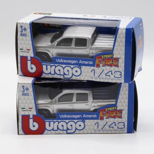 Macheta auto Bburago Street Fire Volkswagen Amarok 1:43