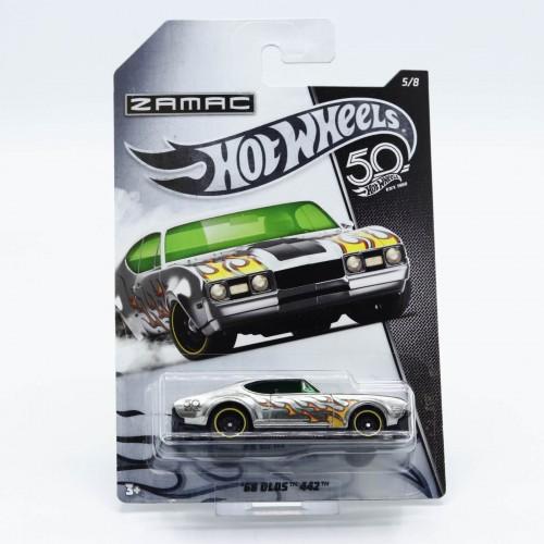 Macheta auto Hot Wheels Mattel 50th Anniversary 68 Olds 442