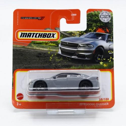 Macheta auto Matchbox 2018 Dodge Charger, 1:64