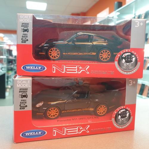 Macheta auto Welly NEX 1:34 Porsche 911 (997) GT3 RS