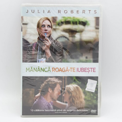 Mananca Roaga-te Iubeste / Eat Pray Love - DVD Filme