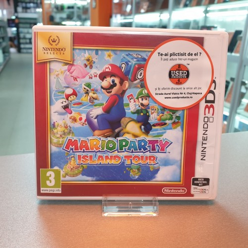 Mario Party Island Tour - Joc Nintnedo 3DS