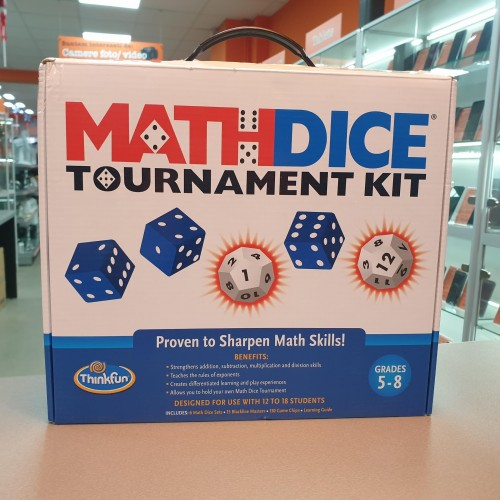 Math Dice Tournament Kit - Jocuri interactive de matematica