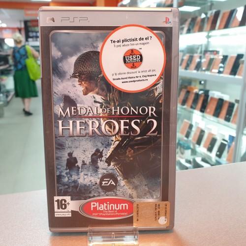 Medal of Honor Heroes 2 - Joc PSP