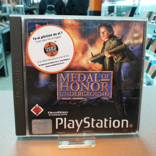 Medal of Honor Underground - Joc PS1