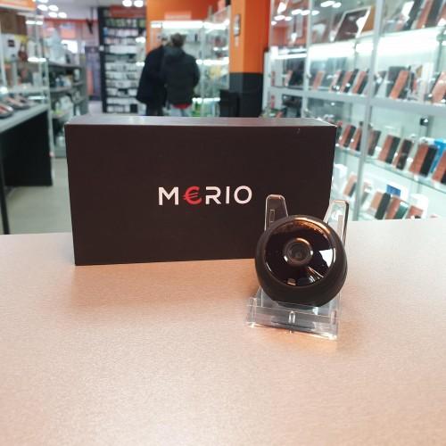 Merio - Micro Camera Spion de supraveghere, FHD 1080p, prindere magnetica