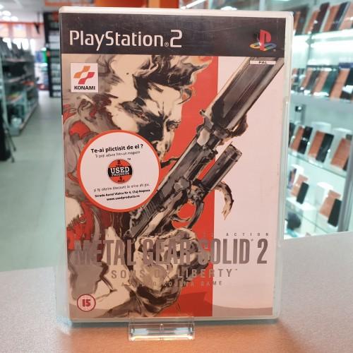 Metal Gear Solid 2 Sons of Liberty - Joc PS2